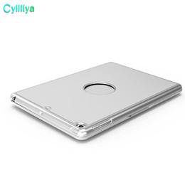 Ultrafino Alumium Folio Shell ABS Sem Fio Bluetooth Backlit Teclado Estojo de Fundo Colorido Backlight para Apple iPad Air venda por atacado