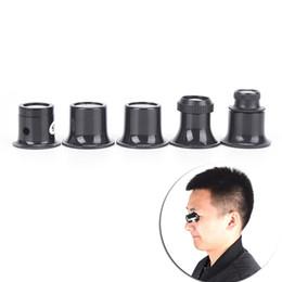 monocular lens 2019 - 5X 10X 15X 20X Monocular Magnifying Glass Loupe Lens Jeweler Watch Repair Tool cheap monocular lens