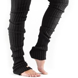 Fitness gyms online shopping - Winter Yoga Socks Stockings Legwarmers Keep Warm Protect Legs For Adult Women Sportswear Fitness Gym Pilates Wear Netherstock