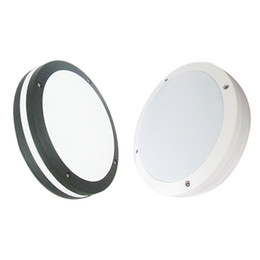 Wholesale IP65 Waterproof LED Bulkhead Ceiling Lamp W W W CM IN AC85 V PF0 LM W Aluminum Wall Light Corridor Passage Lighting China
