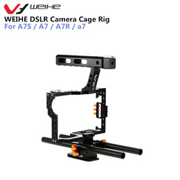 dslr camera cage rig 2019 - wholesale DSLR Camera Protective Case Cover Camera Video Cage Stabilizer Rig Camera Protective Cage for A7S   A7   A7R