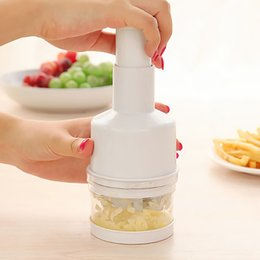 New Cooking Gadgets Australia - New Arrival Kitchen Onion Garlic Chopper Cutter Slicer Peeler Dice Gadgets Pressing Vegetable r Shredders Cooking Tools