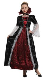 Toy Story Australia - Shanghai Story Women's Vampire Costumes Witch Queen Cosplay Masquerade Halloween