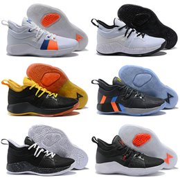 30a4b095a58a New Arrival Paul George 2 PG II Basketball Shoes for Cheap top PG2 2S Starry  Blue Orange All White Black Sports Sneakers 40-46