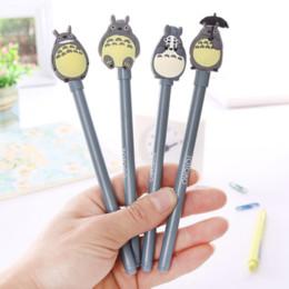 ToToro pen online shopping - 4Pcs set Kawaii Totoro Kawaii Gel Pen School Supplies Stationery Writing Student Gifts Child Rewards