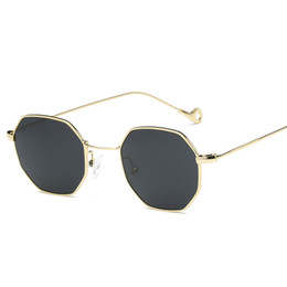 M Sunglasses Brands UK - M MISM Unisex Sunglasses Classic Brand Designer Metal Golden Frame Outdoor Eyewear High Quality Eyeglasses UV400 Mirror Goggles