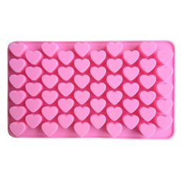Small Mould NZ - Heart-shaped Silicone Chocolate Mold DIY Cake Decorate Accessories - Small Candy Ice Cube Jelly Pudding Chocolates Mould