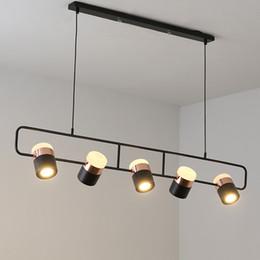 $enCountryForm.capitalKeyWord NZ - Designer Modern Simple LED Bar Table Chandelier Nordic Bedroom Bedside Chandelier Restaurant Metal Light Rotating lamp