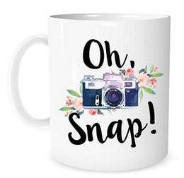 $enCountryForm.capitalKeyWord UK - Oh, Snap! Camera Mug - 11 Ounce White Ceramic Coffee or Tea Mug - Gift for Photographer - Christmas Present