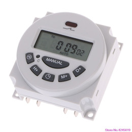 Wholesale DC12V AC220V Digital LCD Weekly Programmable Time Switch Relay Electronic Timer