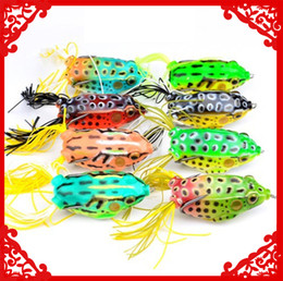 $enCountryForm.capitalKeyWord NZ - New Rubber Ray frog bait Hook 13.5g 5.5cm Topswimming Lifelike Frog Soft Baits Blackfish Eel Artificial Lure