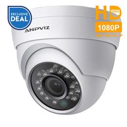 21300f9c176 Anpviz 1080P Turret PoE IP Camera Waterproof HD 2MP Indoor Outdoor Network  Video Surveillance Security CCTV Camera H.265 IR P2P