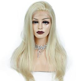 $enCountryForm.capitalKeyWord UK - Blonde Wigs For Black Women Natural Straight Glueless Virgin Brazilian Hair Full Lace Human Hair Blonde Wigs With Baby Hair
