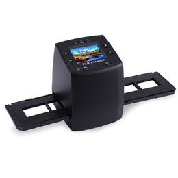 Chinese  Wholesale-EC717 5MP 10MP Film Scanner 3600DPI High Resolution Digital Converter 35mm USB Negative Viewer LCD Slide 2.4 TFT Photo Copier manufacturers