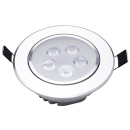 China 4 x White LED Recessed Ceiling Lamp 5W 6500K cheap ceiling toy suppliers