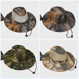389cf4e9039c4 Jungle hats online shopping - Summer Jungle Outdoor Hats Sunscreen Creative  Fisherman Leaf Cap Camouflage Flexible