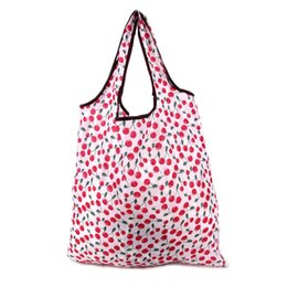 Discount shop for beds - Color Random Polyester Foldable Grocery Bag Solid Color Reusable Bags For Shopping,high Quality Wholesale Shopping Bags
