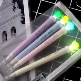 $enCountryForm.capitalKeyWord Canada - Cute Stationery Cactus Light Pen 0.5mm Black Gel Ink Plastic Gel Pens Non-erasable Korean Creative Magic Pen School Supplies