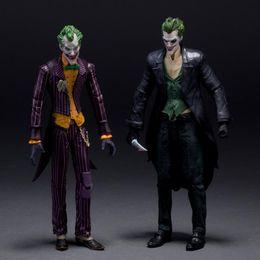 """Arkham Figures NZ - DC Batman The Joker Arkham Origins PVC Action Figure Collectible Model Toys 7"""" 18CM KT107"""
