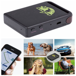 gps tracker for kids wholesale Canada - Mini Car GPS Tracker GSM GPRS Tracking Device For Vehicle Person Kids Pet Elderly Security TK102 DDA419