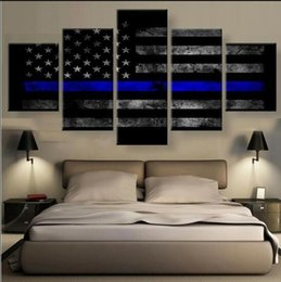 Sports Canvas Prints NZ - Painting Modular Cheap 5 Panel Sport Type Pictures Wall Art For Living Room Home Decor Artwork Flag Canvas Prints Drop Shipping Y18102209