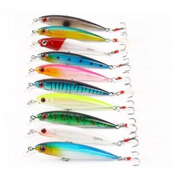bait tail jigs 2018 - 10 colored feather tail milo fish bait 9cm 7g bionic fish bait outdoor fishing road sub-fishing gear T4H0028 discount ba