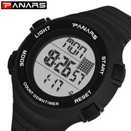 Men Digital Wrist Watches Australia - PANARS Led Digital Watch Men Waterproof Sport Watch Men For Clock Male Electronics Wrist relojes