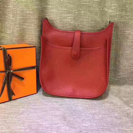 $enCountryForm.capitalKeyWord NZ - 2018 High quality women genuine calfskin Leather EVELYN 28cm 30cm messenger handbag shoulder bag tote purse free shipping