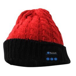 Chinese  HOT Ourdoor Smart Knit Hat Man and Women Models Headset Bluetooth Cap Warm And Appropriate To Remove The Machine Core Wash L2 manufacturers