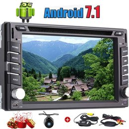 China Eincar wireless camera 1GB+16GB Android 7.1 Car Electronics Double 2 Din Quad Core Car dvd Stereo GPS Navigation Car Radio Bluetooth WIFI suppliers