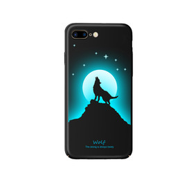 luminous shells cases for iphone UK - For iPhone 7plus 8plus Case, Luminous Noctilucent Glow in the Dark Case [Drop Protection] [Anti-scratch] PC Shell Case for Apple iPhone