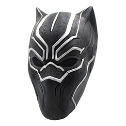 Chinese  Marvel Hero Black Panther Masks For Vendetta Mask Anonymous Guy Fawkes Fancy Dress Adult Costume Accessory Party Cosplay Masks manufacturers
