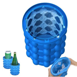 Hot ice cubes online shopping - 2019 New Ice Cube Maker The Revolutionary Space Saving Ice Cube Maker Hot sale Kitchen Tools