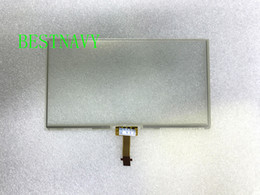Wholesale Free DHL 6.1Inch LCD touch panel LA061WQ1(TD)(04) LA061WQ1-TD04 only touch digitizer for Toyotta car DVD GPS navigation
