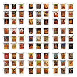 Мода 172 стили горячие Хэллоуин шаблон двухсторонняя печать украшения сада флаг завод прямых продаж открытый флаги T7i265 на Распродаже