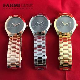 Brand Luxury Style Watch Australia - FAHMI Zinc Alloy Men's and Women's Zirconium Love Exquisite Style Elegant Quartz Watch Exquisite Gifts Jewelry Luxury Brand
