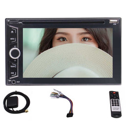 "phone maps NZ - 6.2"" Stereo Double Din Autoradio PC Car DVD CD Resolution Player Bluetooth FM AM RDS Capacitive Screen TF USB,8GB Map+Rear camera"
