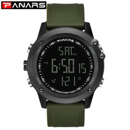 Wholesale PANARS Digital Watch Men Sport Outdoor Watch Mens Waterproof Watches Dual Time Alarm Clock Hours Electronic Wrist Watches