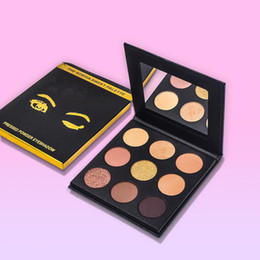 $enCountryForm.capitalKeyWord Australia - Best Wholesale Newest Makeup 9 Colors Eye Shadow Palette The SORTIA SWEET Pallete Pressed Powder Eyeshadow Kit Palettes Bronze Plate DHL
