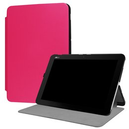Asus rose online shopping - PU Leather Case Flip Cover with Auto Wake Sleep for Asus Transformer Book Mini T102HA Tablet