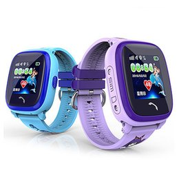 China Waterproof DF25 Kids Smart Watch PK Q100 GPS Smart Baby Watch SOS Call Location Device Tracker Kids Safe Anti-Lost Monitor suppliers