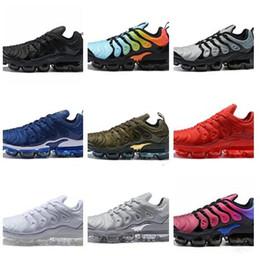 new concept c8646 3e5b8 2018 Vapors TN plus SEA VERDADERO Rainbow Metallic Blanco rojo Plata triple  negro hombres Mujeres Chaussures zapatos casuales zapatillas de deporte de  ...