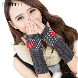$enCountryForm.capitalKeyWord Canada - Winter Women Fingerless Gloves Fashion Love Heart Knitted Fitness Gloves Girls Women Hand Warm Mittens Autumn Luva #JO