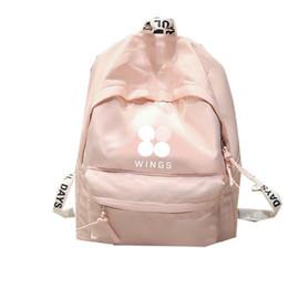 b3f059f935f6 KPOP BTS Backpack Bangtan Boys Shoulder Bookbag Student Back to School Bag  7082917