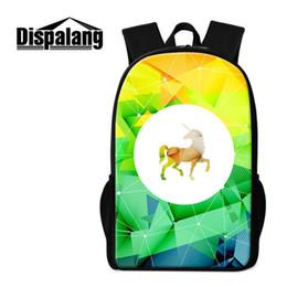 Cute Backpacks For Teenage Girls Australia - Cute Unicorn School Backpack For Teenage Girls Universe Stars Pattern Travel Shoulder Bag Children Daily Daypacks Women Men Outdoor Knapsack