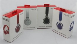 Tm iphone online shopping - EP TM Bluetooth Overhead headphone Wireless Stereo Headset Headband With Mic and Volume Button Control For iPhone Samsung S7 S8 Note