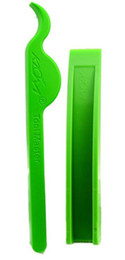 Chinese  KLOM Lever Wedge and Gradient Door Stop are made by KLOM they are green, durable, very useful when locksmiths need to do some work manufacturers