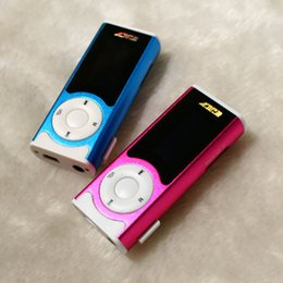 Mini Mp3 player 32gb online shopping - Mini Mp3 Player With LCD Screen Built in Speaker Music Support GB GB GB GB GB TF card MP3 player MR202