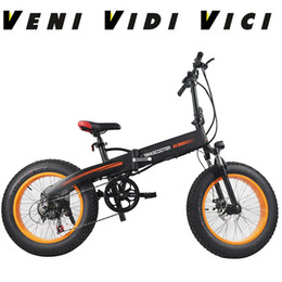 1a22c207fd3 Venividivici 20 inch folding ebike Snow fat tire fatbike qicycle electric  bicycle mountain bike With Computer Speedometer