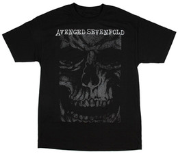 Sh Fashion UK - Authentic Avenge Sevenfold In Your Face T-Shirt S M L Xl 2Xl New T Shirt Men Man's Top Design Short Sleeve Fashion Custom Big Size Team T Sh